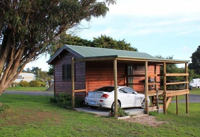 Abel Tasman Caravan Park, East Devonport, Z zewnątrz