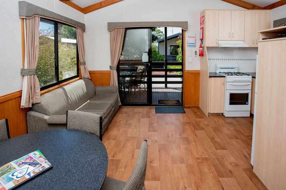 Paaugstināta komforta numurs, nesmēķētājiem, virtuve (2 Bedroom Deluxe Cabin) - Dzīvojamā zona