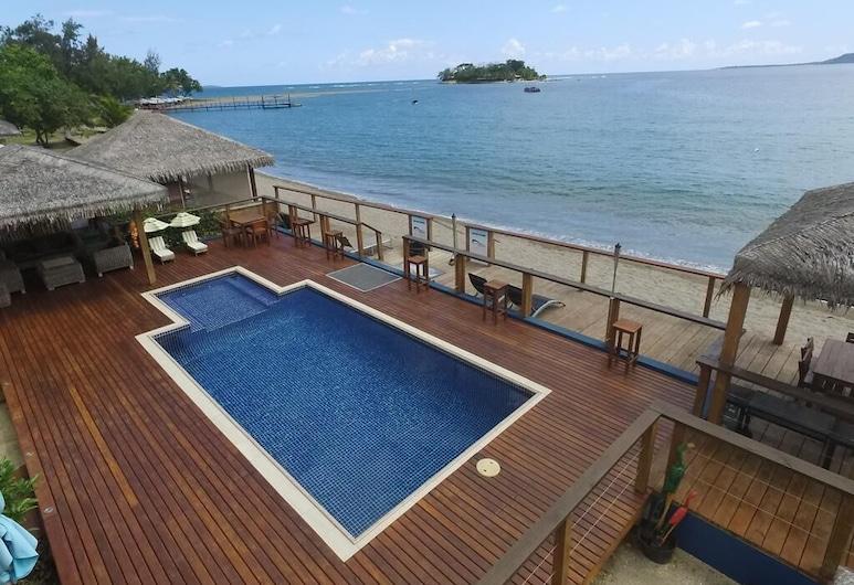Vanuatu Beachfront Apartments, Mele, Piscina all'aperto