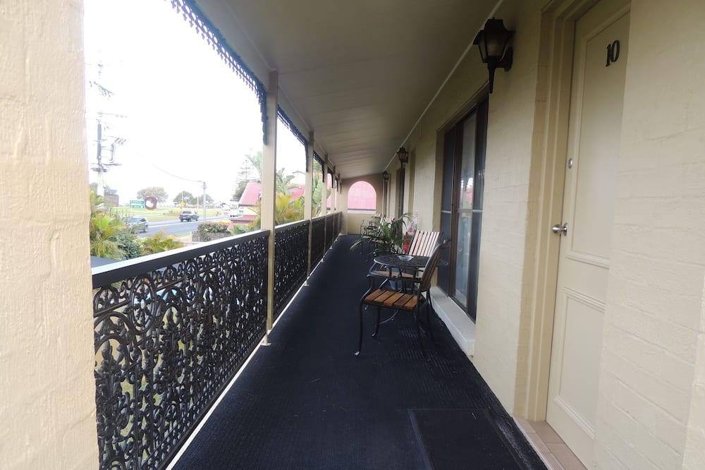 Стандартний номер-люкс, 2 спальні, для некурців, з балконом (Suite) - Балкон