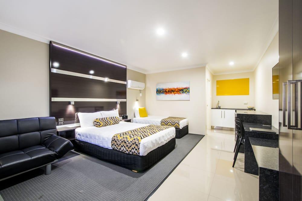 Familienzimmer (Deluxe) - Wohnbereich