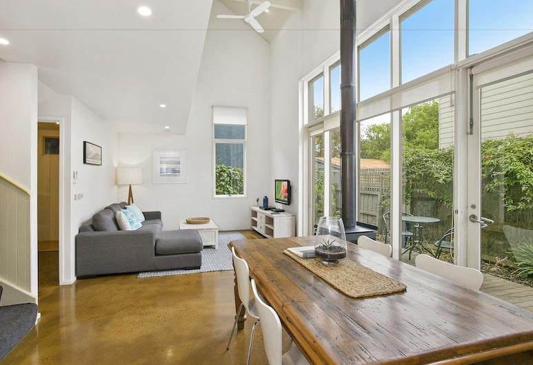 Terrace Lofts Apartments, Ocean Grove, Surf Apartment, Living Area