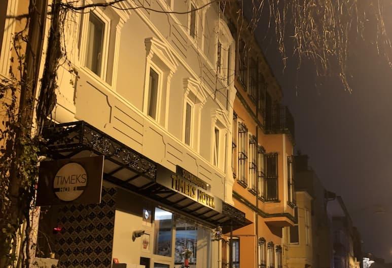 تيمكس هوتل سلطان أحمد, إسطنبول, واجهة الفندق - مساءً /ليلا