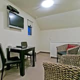 Design-Loft, 1King-Bett - Wohnbereich