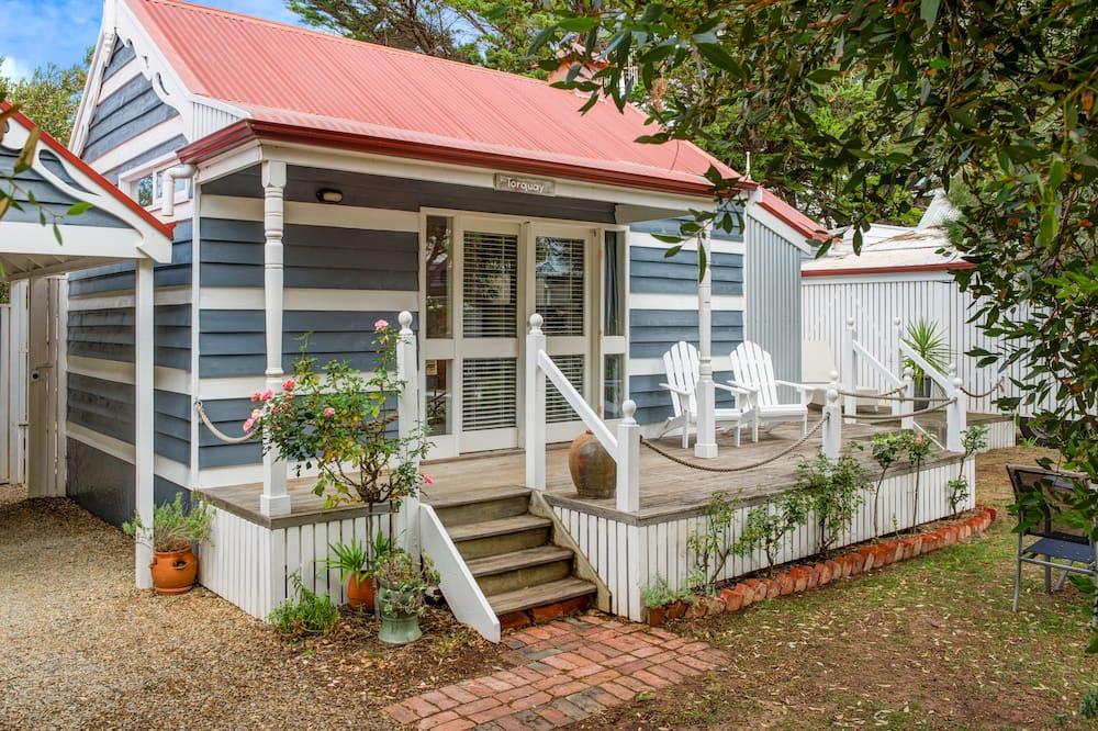 Familie huisje, 2 slaapkamers, niet-roken, gemeenschappelijke badkamer (Torquay) - Balkon