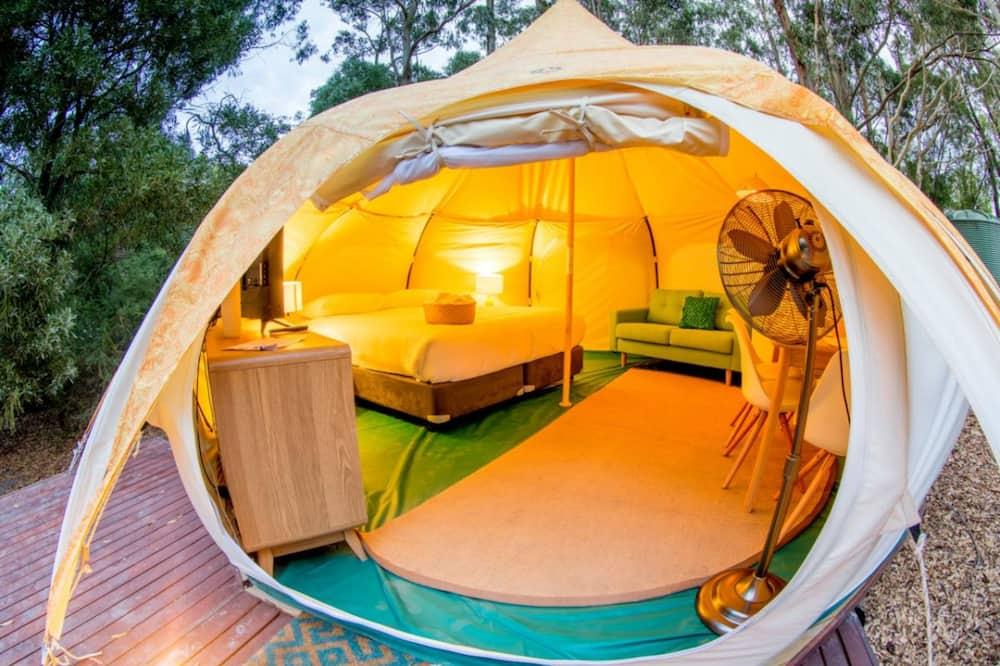 אוהל משפחתי, 2 חדרי שינה - חדר אורחים