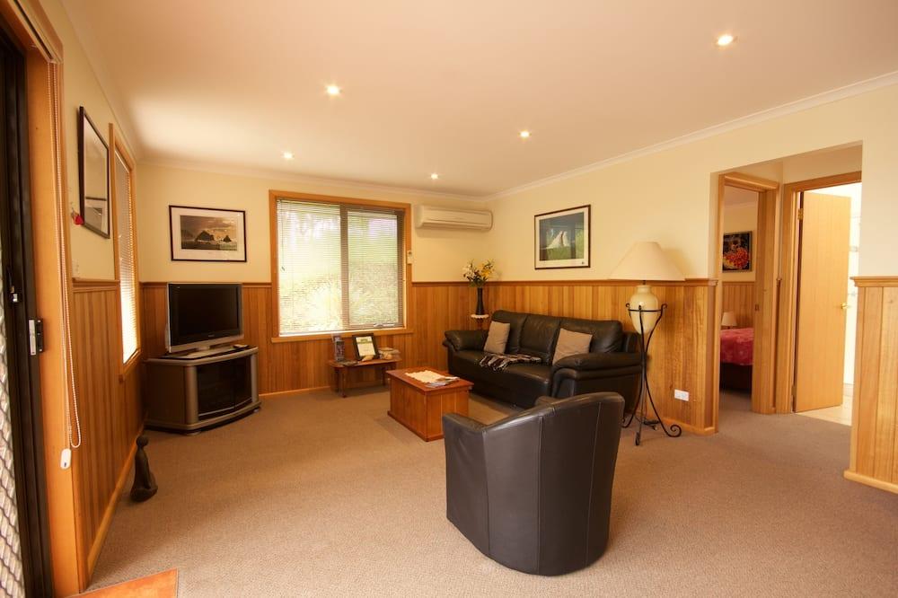 Standaard appartement, 2 slaapkamers (The Deck) - Woonruimte