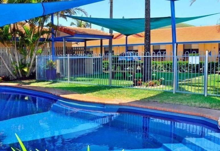 Yamba Twin Pines Motel, Yamba, Alberca al aire libre