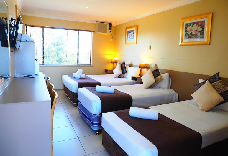 Bella Vista Motel, Kariong, Quarto Familiar, Não-fumadores, Quarto