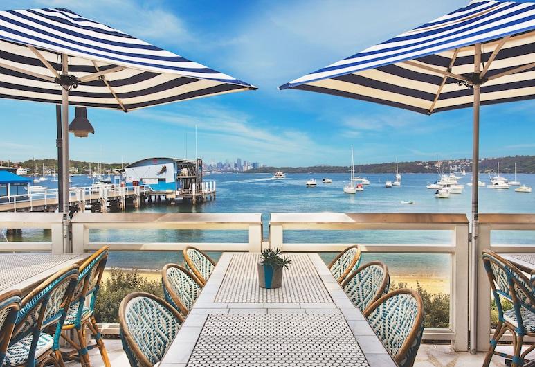 Watsons Bay Boutique Hotel, Watsons Bay, Tempat Makan Luar Ruangan