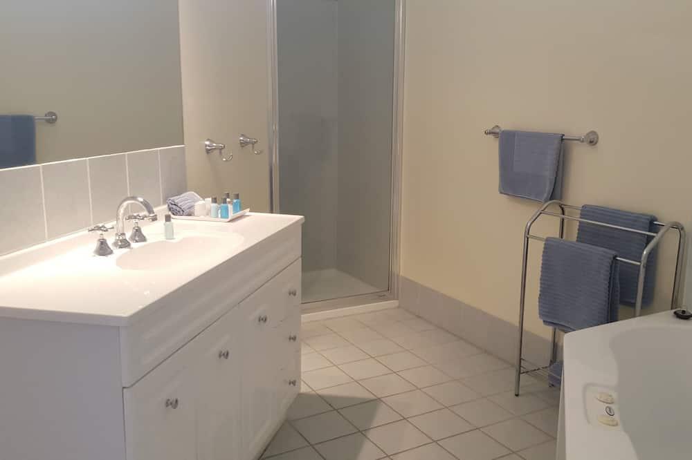 Suite - boblebad (Queen Twin) - Badeværelse
