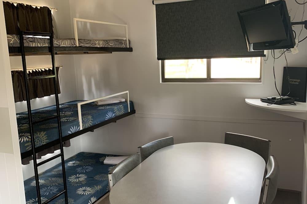 Basic Cabin (No Ensuite) - Living Area