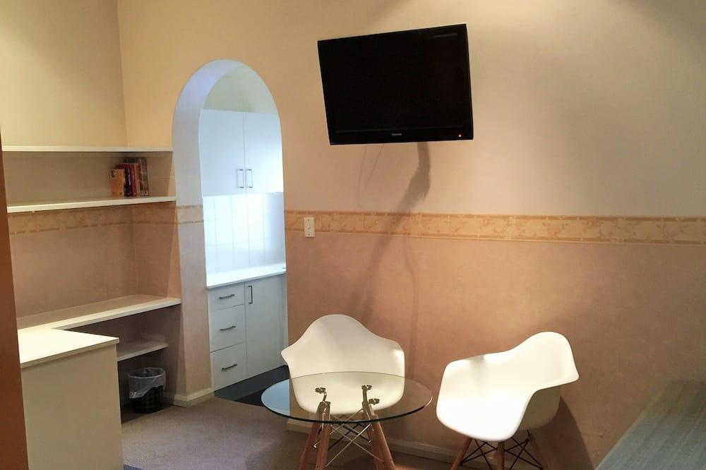Улучшенный двухместный номер с 1 двуспальной кроватью, 1 спальня - Зона гостиной