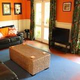 Perhesviitti, 2 makuuhuonetta (Stonewall Cottage) - Oleskelualue