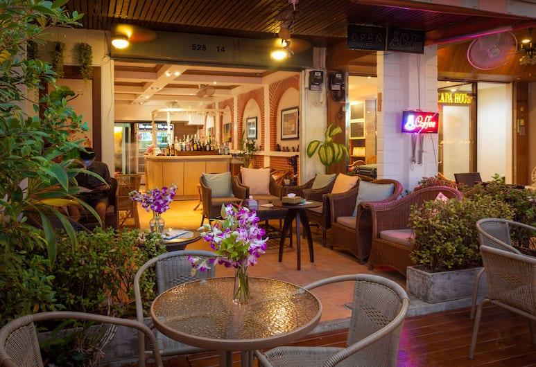 Karon Sunshine Guesthouse & Bar, Karon, Outdoor Dining