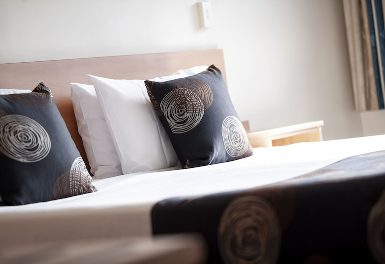 Black Buffalo Hotel, Βόρειο Χόμπαρτ, Δωμάτιο, 1 King Κρεβάτι (King Suite), Δωμάτιο επισκεπτών