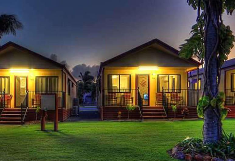 NRMA Capricorn Yeppoon Holiday Park, Mulambin, Apartament typu Deluxe Suite, 2 sypialnie, dla niepalących, kuchnia, Taras/patio