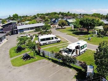 Christchurch bölgesindeki Amber Kiwi Holiday Park & Motel resmi