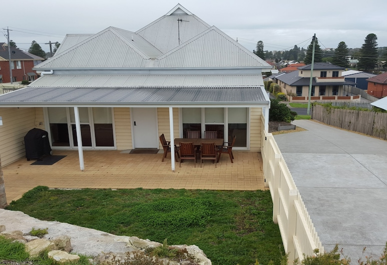 Lighthouse Lodge, Warrnambool, Restaurante al aire libre