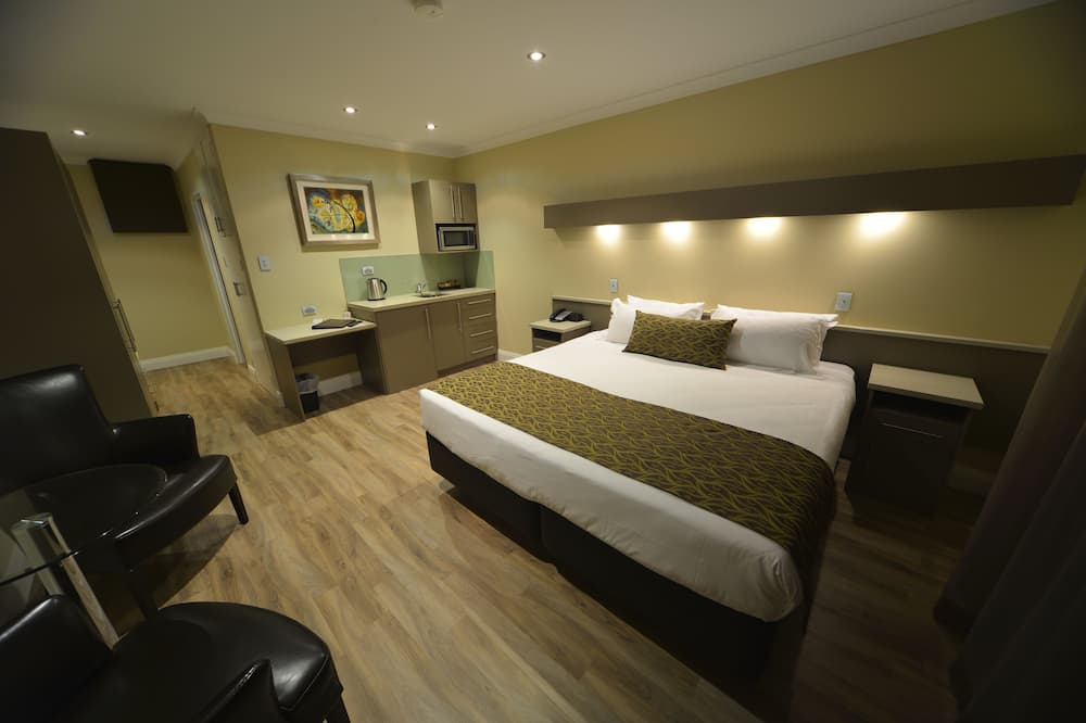 Pokoj typu Deluxe (Double) - Kuchyňský kout na pokoji