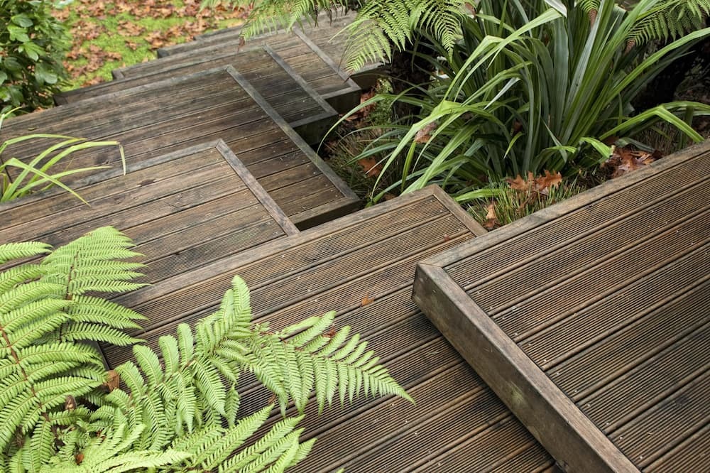 標準客房, 1 張加大雙人床, 露台, 花園景 - 陽台