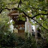 Suite – standard, 1 soverom, ikke-røyk, kjøkken (1 Treehouse Cottage) - Terrasse/veranda