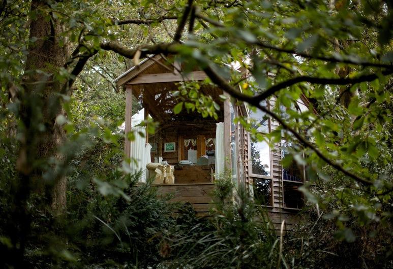 Arcadia Cottages, Olinda, Štandardný apartmán, 1 spálňa, nefajčiarska izba, kuchyňa (1 Treehouse Cottage), Terasa