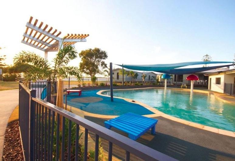 Caloundra Waterfront Holiday Park, Caloundra, Outdoor Pool