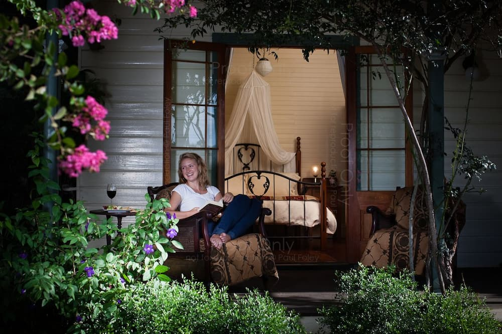 Romantisches Zimmer, Nichtraucher, Balkon (Queen w/private bath(1)) - Balkon