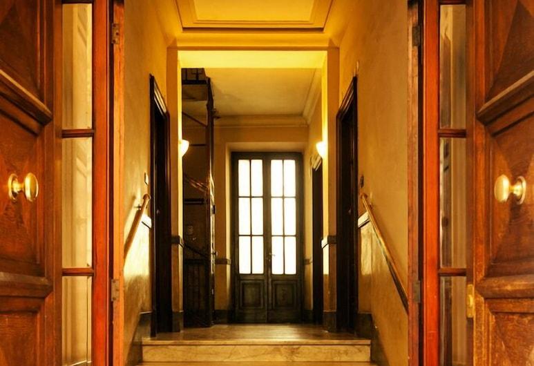 多米納波波羅民宿, 羅馬, 酒店入口