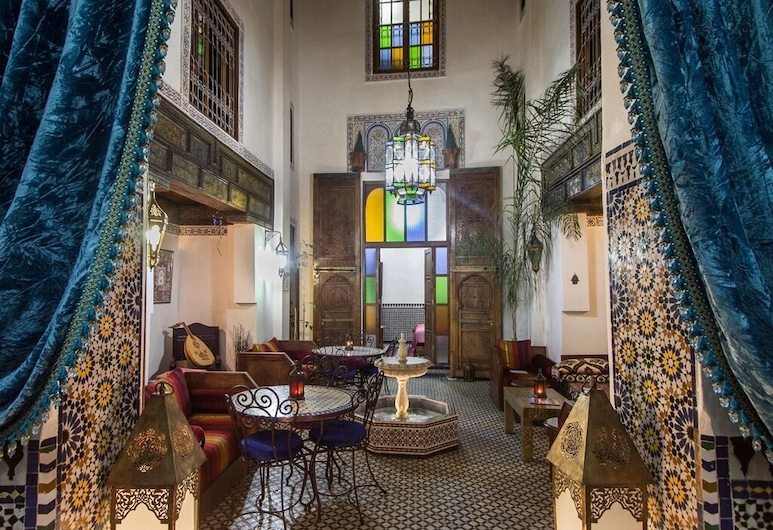 Riad Sunrise, Fes, เลาจน์ของโรงแรม