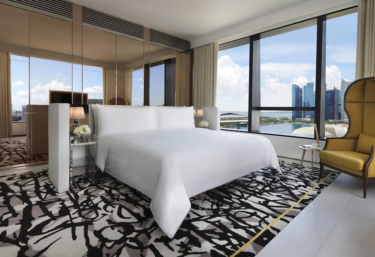 JW Marriott Hotel Singapore South Beach, Σινγκαπούρη, Premier Σουίτα, 1 Διπλό Κρεβάτι, Μη Καπνιστών, Δωμάτιο επισκεπτών