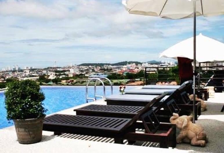 Chatkaew Hill & Residence, Pattaya, Khu tắm nắng