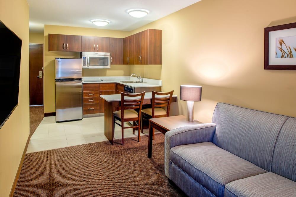 Studio Suite, 2 Queen Beds, Non Smoking - Living Area