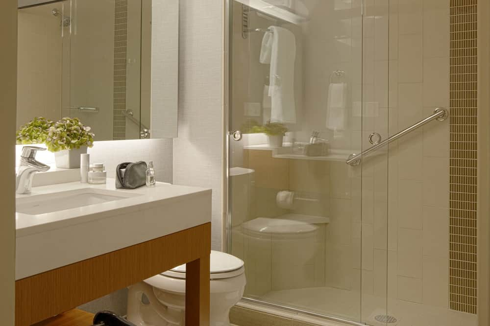 Suite, 1 King Bed, Accessible (Shower) - Bathroom