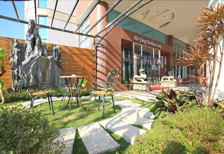 Ho Fong Business Stay, Taichung, Gårdsplads