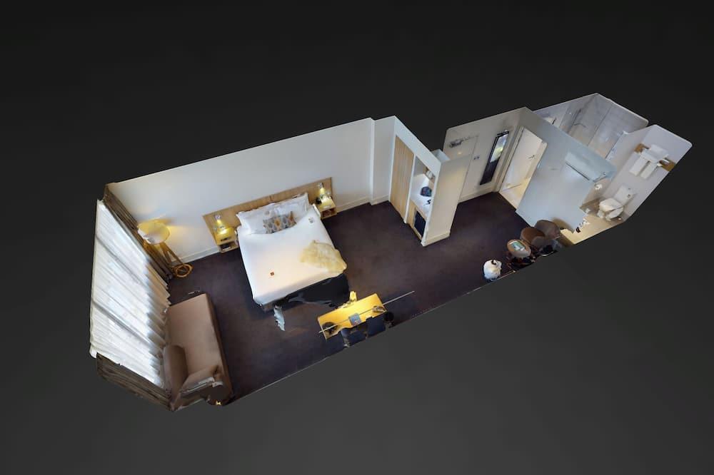Σουίτα, 1 King Κρεβάτι, Μη Καπνιστών - Δωμάτιο επισκεπτών