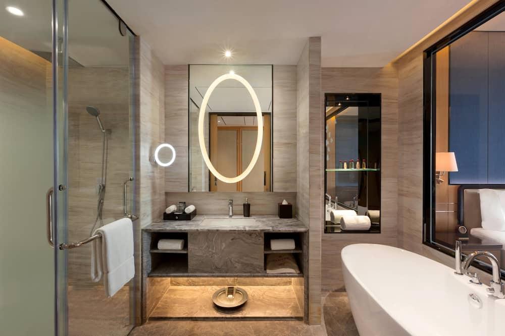 商務大床房 - 浸泡式浴缸