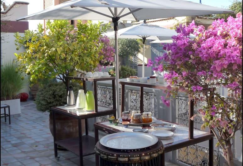 Riad Noos Noos, Marrakech, Terrasse/Patio