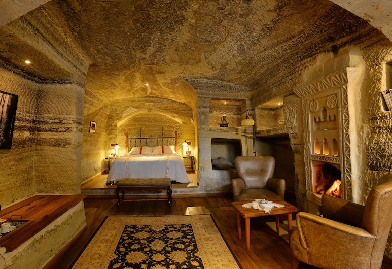 Terra Cave Hotel, Nevsehir, King Cave Suite, Guest Room