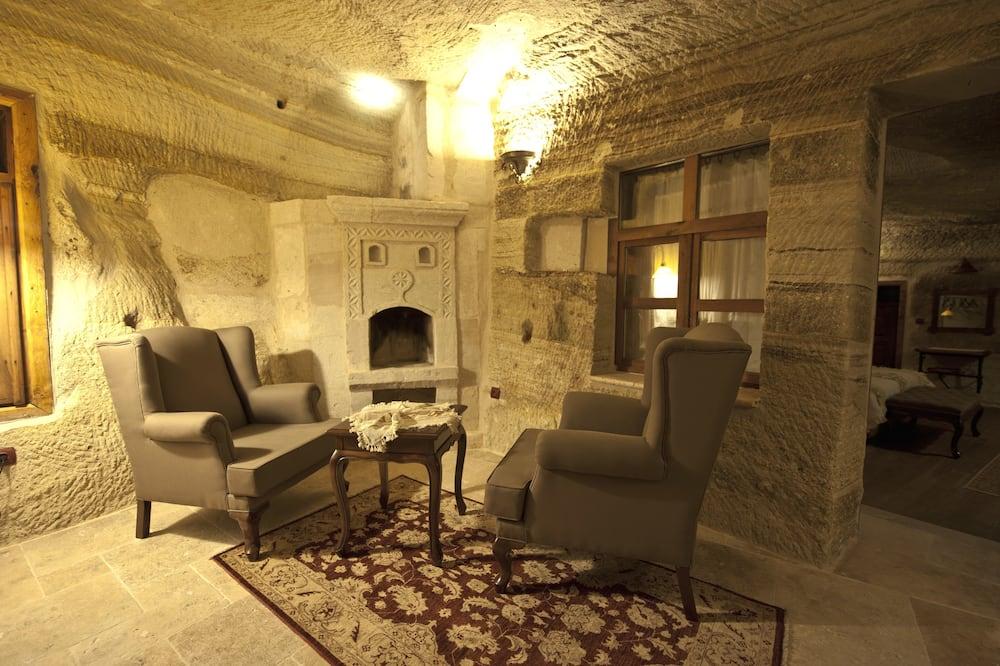 Superior Cave Suite - Sala de estar