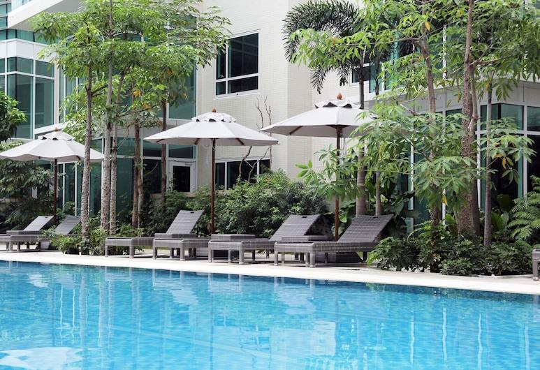 阿魯加公寓 - 洛克威爾馬卡蒂, 馬卡提, 室外泳池