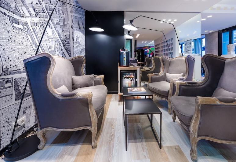 Hotel l'Antoine, Paris, Lobby Lounge