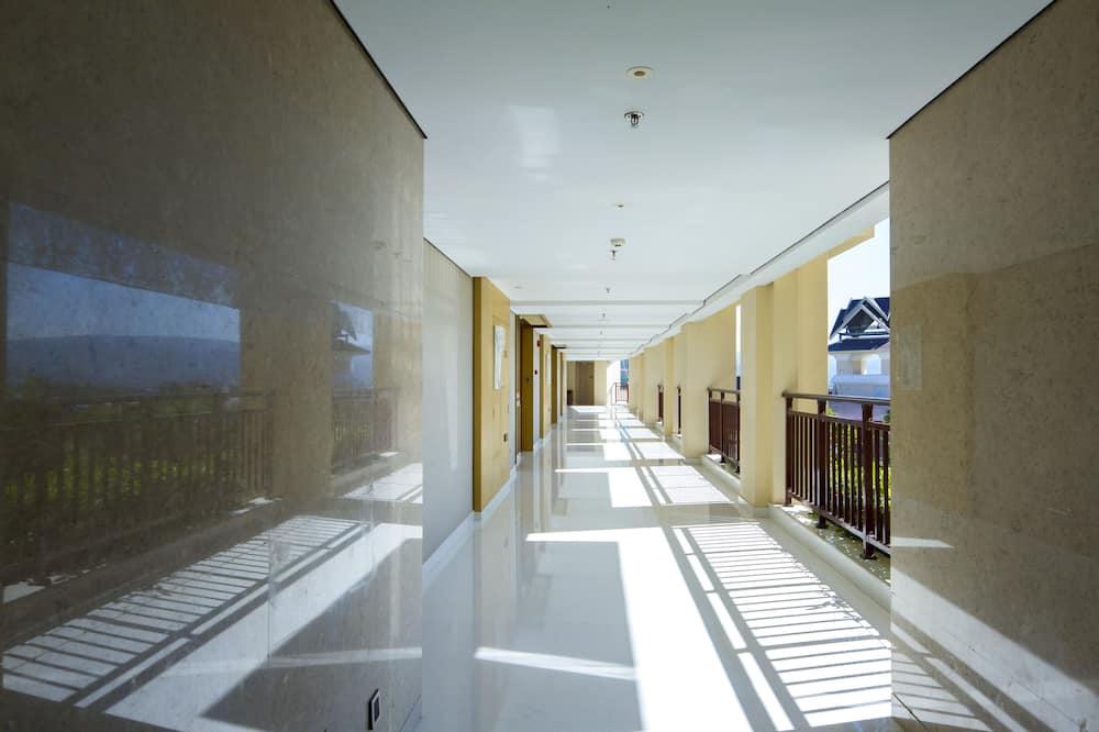 グランド ルーム キングベッド 1 台 バルコニー - ベランダ