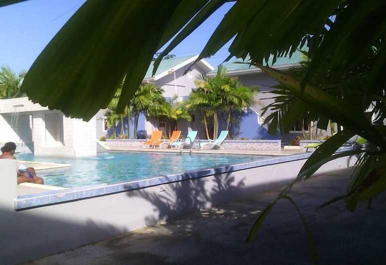 Green Palm Boutique Hotel, Crown Point, Outdoor Pool