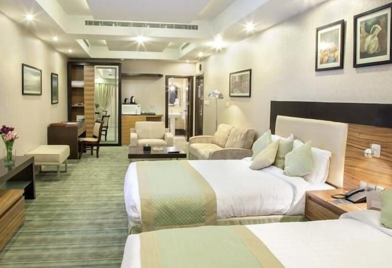 Al Rawda Hotel - Al Salama, Jeddah, Dobbeltværelse med dobbeltseng eller 2 enkeltsenge, Værelse
