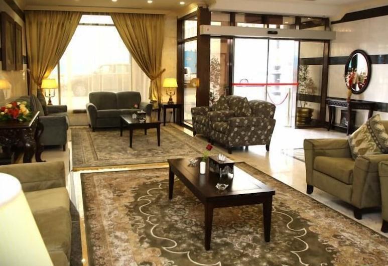Al Rawda Al Aqeeq Hotel, Medina, Sala de estar en el lobby