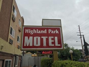Obrázek hotelu Highland Park Motel ve městě Los Angeles