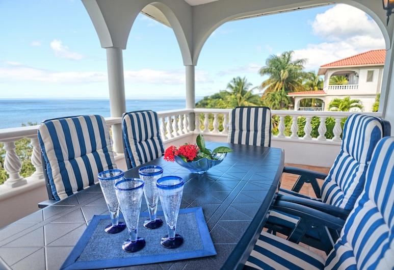 Caribbean Sea View Holiday Apartments, Mero, Sea Breeze, 2 Bedroom Apartment, Balkons
