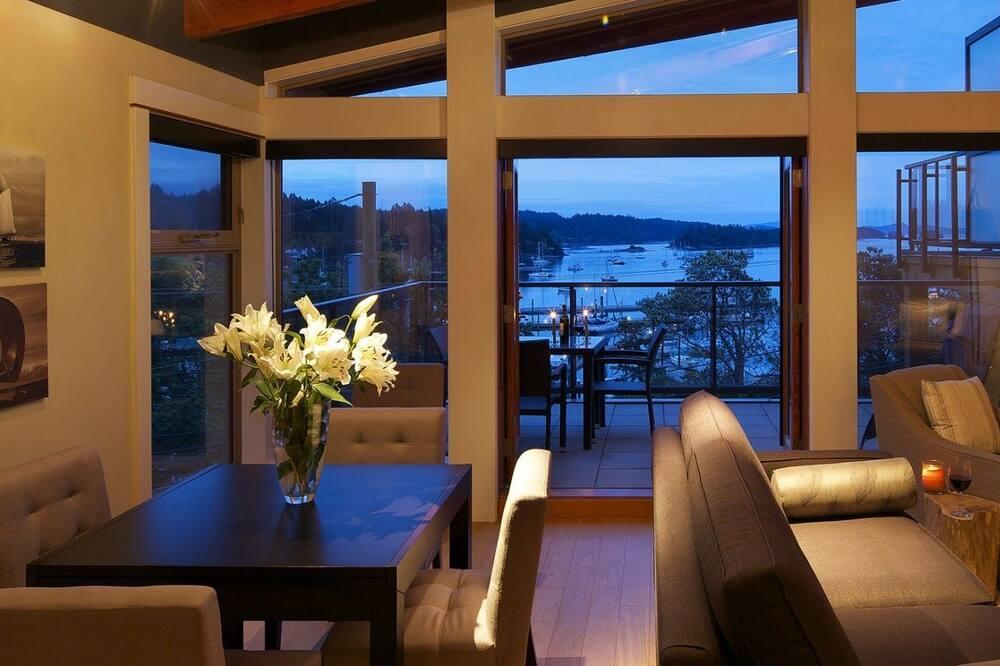 Suite de lujo, 2 habitaciones, vista al mar - Sala de estar